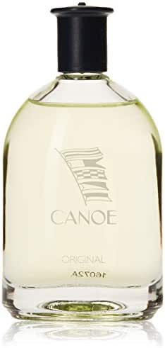 Canoe by Dana | Eau de Toilette Splash | Original, Classic Fragrance for Men | Fresh Citrusy Fragrance with Herbs and Sweet Resinous Undertones | 120 mL / 4 fl oz