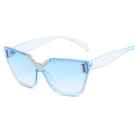 Gafas sol Gafas Women de For Lens de Summer Designer Mirror GGSSYY sol Beige Mujer Style Sunglasses Brand Vintage Blue w08xEna6q