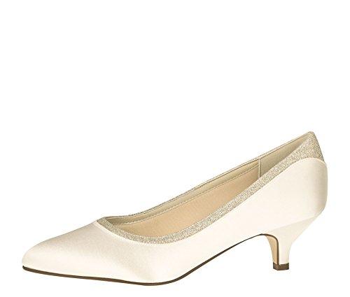 Vestir Club Para Zapatos Marfil Creme Mujer De Rainbow Ivory HfxRqwZx