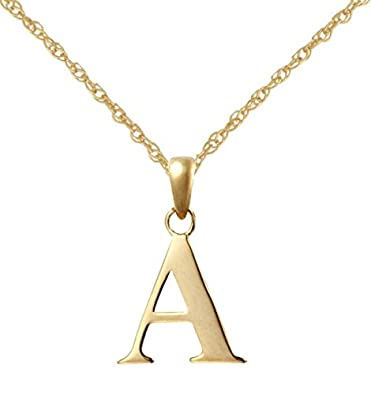 9ct yellow gold initial a pendant with 18 9ct gold rope chain 9ct yellow gold initial a pendant with 18quot 9ct gold rope chain mozeypictures Choice Image