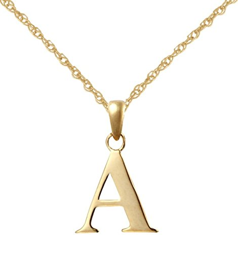 9ct yellow gold initial a pendant with 18 9ct gold rope chain 9ct yellow gold initial a pendant with 18quot 9ct gold rope chain mozeypictures Gallery