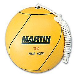 Martin Rubber Tetherball, Yellow by Martin Sports