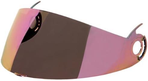 Rainbow//One Size TORC Visor Shield Adult Interstate T-22 Helmet Accessories