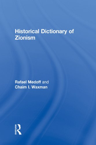 Download Historical Dictionary of Zionism Pdf