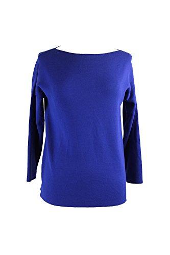 max-mara-weekend-blue-drop-shoulder-sweater-s