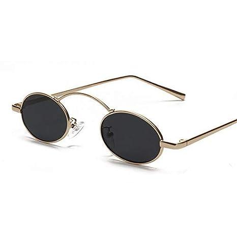 GCCI Moda de verano Pequeñas gafas de sol redondas Mujeres ...