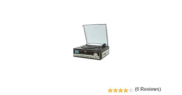 DTR-400 GIRADISCOS con Cassette: Daewoo: Amazon.es: Electrónica