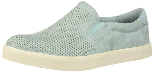 Dr. Scholl's Shoes Women's Madison Sneaker, Seafoam Blue Microfiber Cool, 7 M US