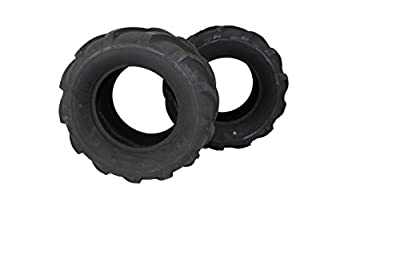 (Set of 2) 24x12.00-12 ATV/UTV, Lawn & Garden, Lawn Tractor, Mower Tires 4 Ply ATW-041