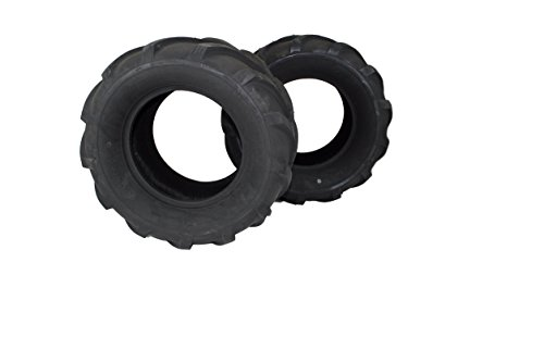(Set of 2) 24x12.00-12 ATV/UTV, Lawn & Garden, Lawn Tractor, Mower Tires 4 Ply ATW-041