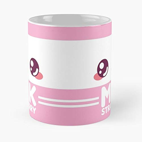 Cute Kawaii Milk - Ceramic Mugs ()