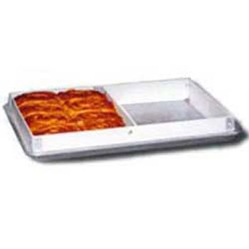 Molded Fiberglass 1762011537 Full-Size Fiberglass Sheet Pan Extender - Divided in 2 Sections ()