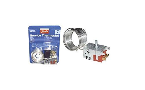 Thermostat Danfoss N° 7 - 077b7007 Référence : As0003933 Pour Congelateur Brandt