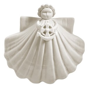 "Margaret Furlong Anchor of My Soul Angel Ornament 3"""