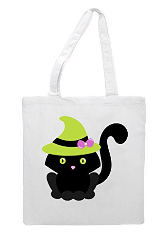 Tote White Cat Two Halloween Character Bag Shopper RRtFBSY