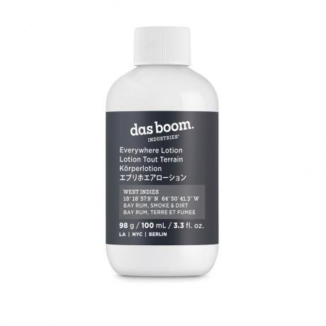 Das Boom Industries West Indies (Bay Rum, Smoke & Dirt) Lotion Travel Size
