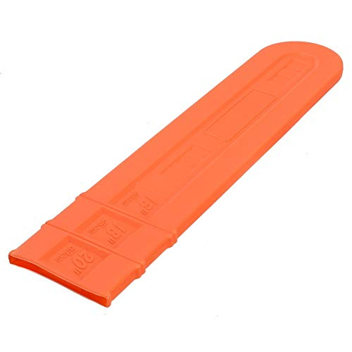 BIG-DEAL_1pcs 16'' 18'' 20'' Chainsaw Bar Cover Scabbard Universal Guide Plate Chain Saw Accessory Orange