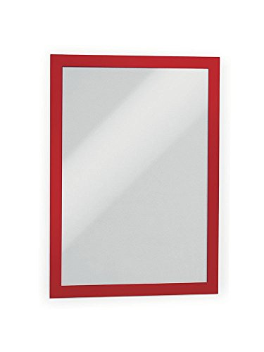 DURABLE Self-Adhesive Magnetic DURAFRAME Document Sign Holder, Letter-Size 8-1/2