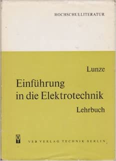 LUNZE ELEKTROTECHNIK PDF DOWNLOAD