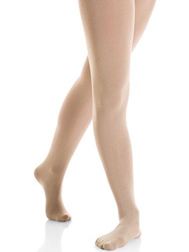 Mondor Performance Footed Tights (NOT RETURNABLE IF OPENED) (Adult Medium, Light Tan) ()