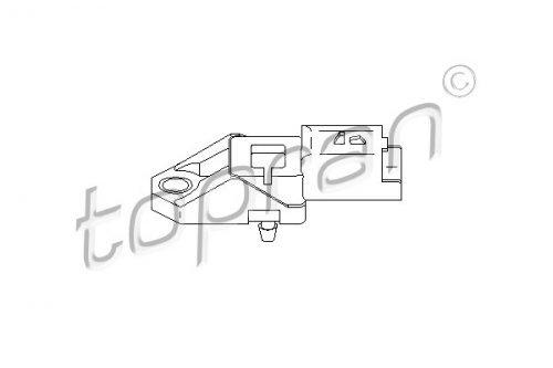 Intake Manifold Pressure Sensor MAP Fits CITROEN C3 C5 PEUGEOT 1.4-2.2L 1998- by TOPRAN