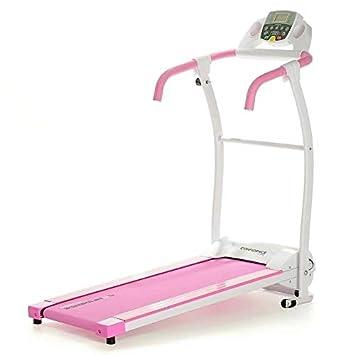 Confidence Fitness TP-1 Electric Treadmill Folding Motorised Running Machine Pink