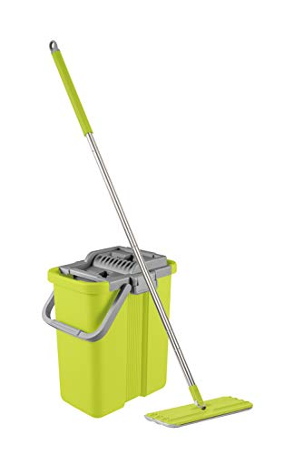 Mopnado - Squeezy Clean Self Cleaning Microfiber - Tool Flat Mop
