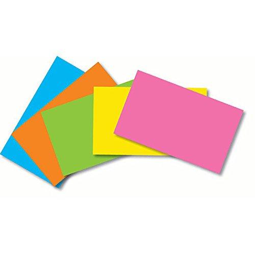 Notch Index (TOP NOTCH TEACHER PRODUCTS INDEX CARDS 3X5 BLANK 100 CT BRITE (Set of 24))