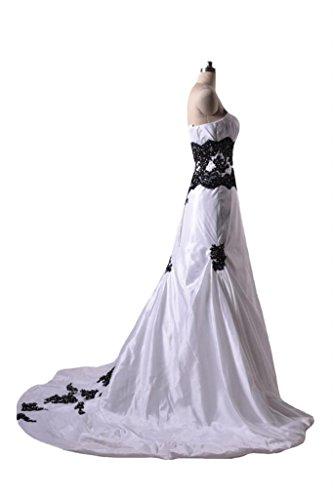 beth Chiarore Spalline Daisyformals Classico Nero Pizzo Da Bianco Abito amp; Senza Sposa Sposa Fit Da Abito xxOBTAq
