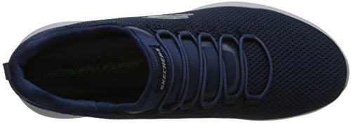 Skechers Men's Dynamight Low Top Shoes Black Blue THCxRLNuc