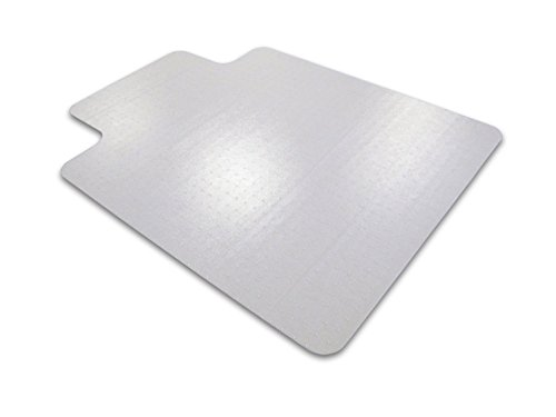 Floortex Ultimat Polycarbonate Chair Mat for Carpets to 1/2