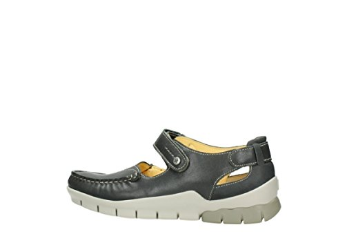 Leather Janes Polina Grey Comfort 70200 Mary Wolky 0zx64pC