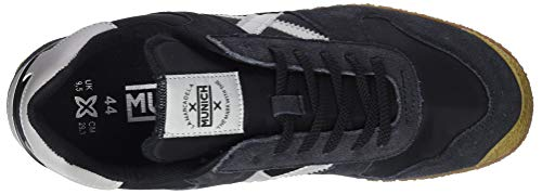 Negro Negro Munich Zapatillas Unisex Blanco 1387 Adulto Goal XwvFv1nxqI