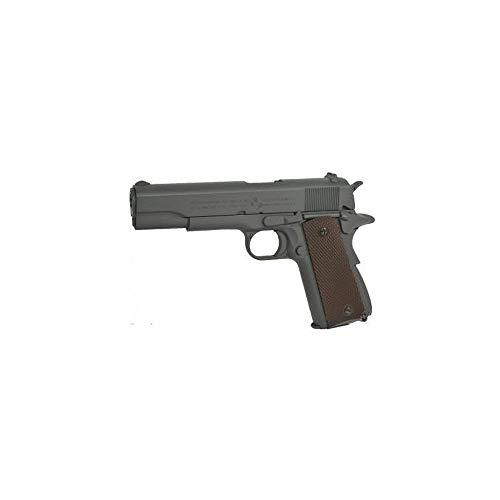 NFL Airsoft Colt 1911 Anniversary Gris Phosphaté Co2 (Swiss Arms 180532 0.5 Joule) 1