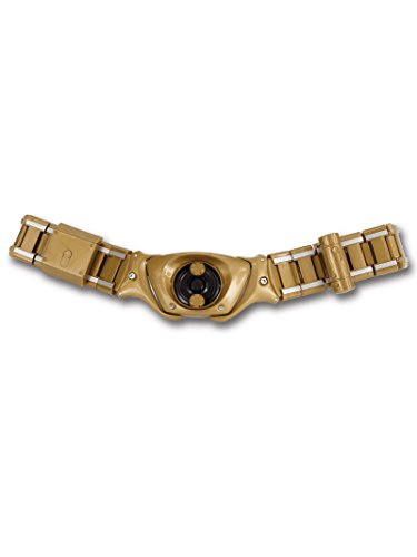 Rubie's Costume Batman The Dark Knight Rises Batman Belt, Gold, One Size]()