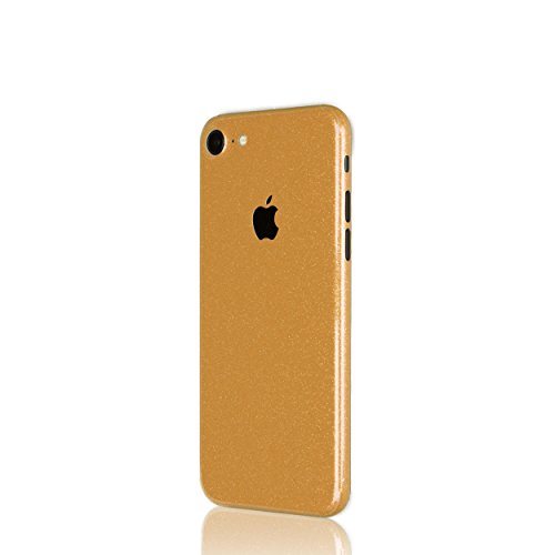 AppSkins Rückseite iPhone 7 Full Cover - Diamond pure gold