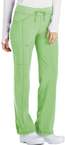 Cherokee Infinity 1123A Low Rise Drawstring Pant Candy Apple S Petite ()