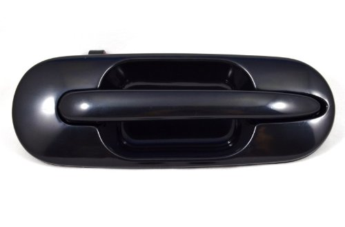 Smooth Black Passenger Side Rear Outside Exterior Outer Door Handle PT Auto Warehouse HO-3242S-RR