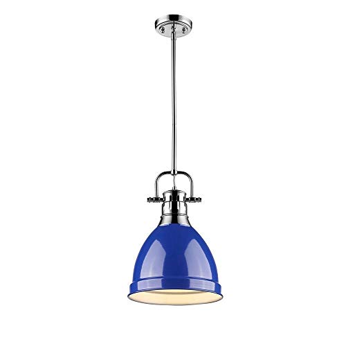 Cobalt Blue Light Pendant in US - 5