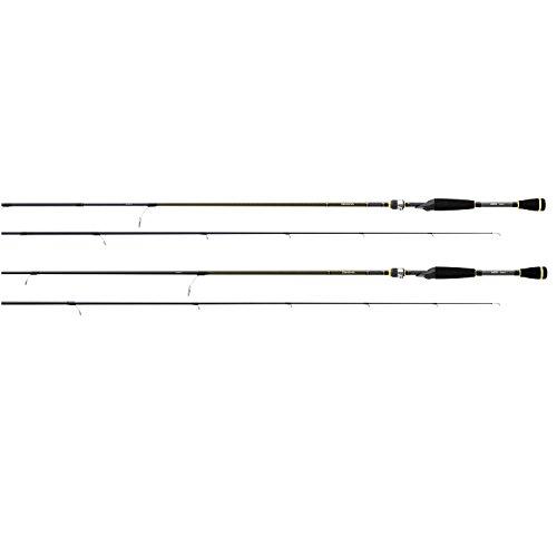 Daiwa AIRX662MFB Aird-X 8-17 lb Test Rod, Black