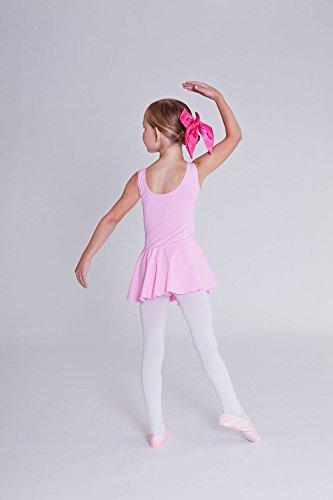 Claro Niñas Negro Rosa Blanco Sin De Y Lavanda Marino Fucsia Faldita Mangas Para Rosa 'nora' Tanzmuster En Maillot Borgoña Azul Ballet Con Lila OZqwWgz