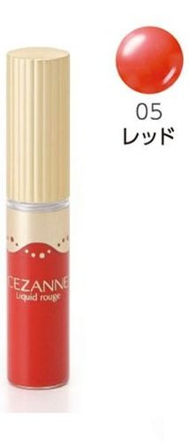 Cezanne Liquid Rouge Lipstick Lipgloss Made in Japan Canmake (05) by Cezanne
