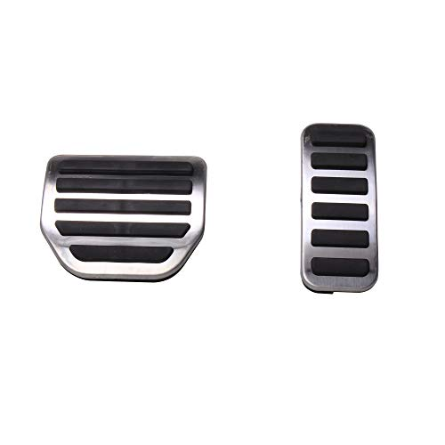 RedWolf Fuel Gas Brake Pedal Cover Accelerator Pads for Land Rover Discovery Range Rover Sport 3 4 No Drill