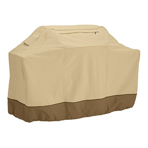 Classic Accessories Veranda Grill Cover, XXX-Large, Pebble (Renewed)