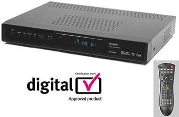 Technika AEDTR160S7 - TDT Grabador PVR Personal 160 GB disco duro (Freeview + Digital) grabación y pausa de TV en vivo (Twin tuner=registro 1 canal mientras ve otro): Amazon.es: Electrónica