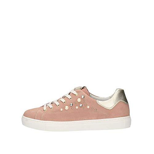 Giardini Sneakers P907573d Nero Rosa Donna TwanqnAfd