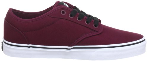 Shoes Red Atwood Vans White Sneakers Unisex Oxblood UwIftq