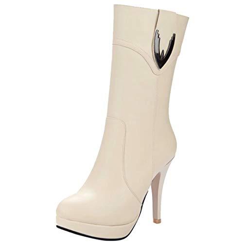 Classic AIYOUMEI AIYOUMEI Beige Women's Women's Boot tdq0t