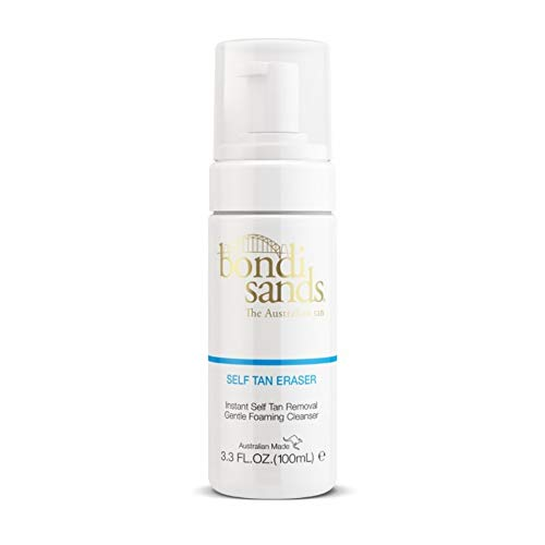 BONDI SANDS Mini Self Tan Eraser, Instant Removal, Gentle Foaming Cleanser, 3.3fl oz / 100ml