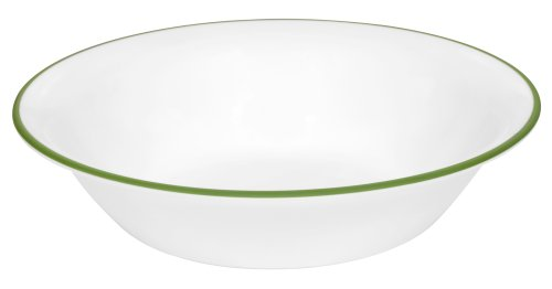 Iris Cereal - Corelle Impressions 18-Ounce Soup/Cereal Bowl, Shadow Iris